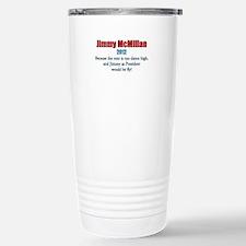 Jimmy McMillan 2012 Stainless Steel Travel Mug