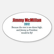 Jimmy McMillan 2012 Decal