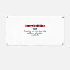 Jimmy McMillan 2012 Banner