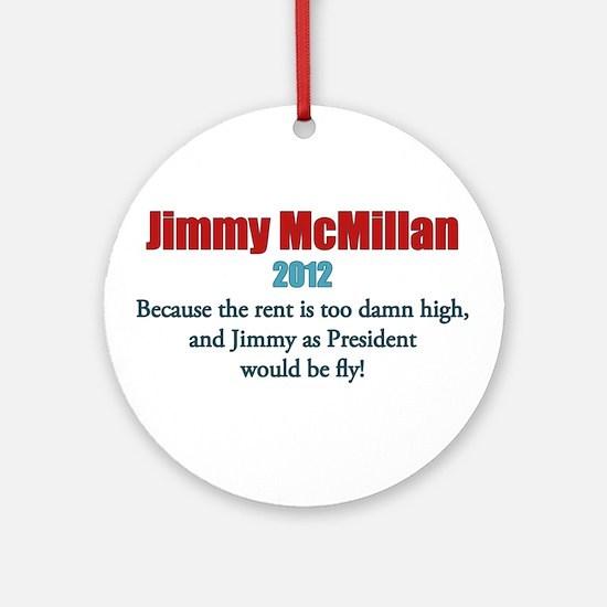 Jimmy McMillan 2012 Ornament (Round)