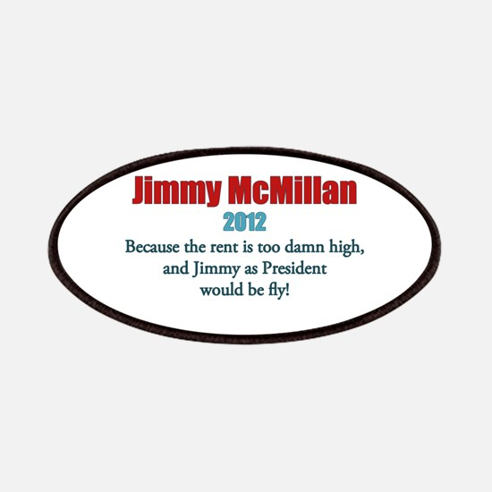Jimmy McMillan 2012 Patches