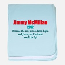 Jimmy McMillan 2012 baby blanket