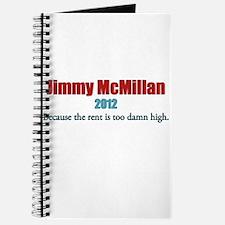 Jimmy McMillan 2012 Journal