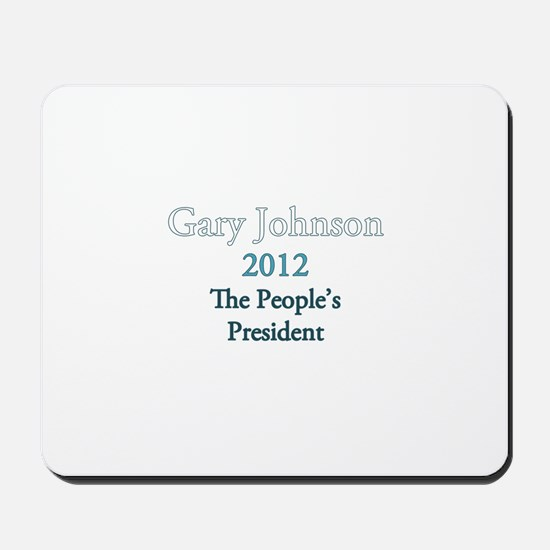 Gary Johnson 2012 Mousepad