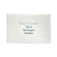 Gary Johnson 2012 Rectangle Magnet (100 pack)