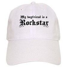 My Boyfriend is a Rockstar Baseball Cap