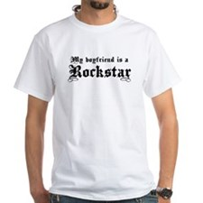 My Boyfriend is a Rockstar Shirt