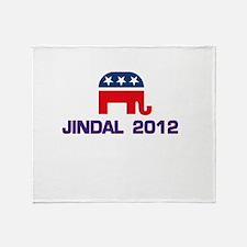 Jindal 2012 Throw Blanket