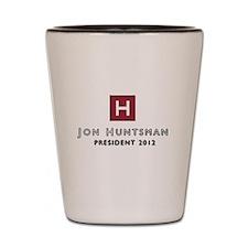 Jon Huntsman 2012 Shot Glass
