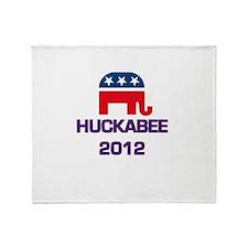 Huckabee 2012 Throw Blanket