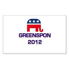Greenspon 2012 Decal