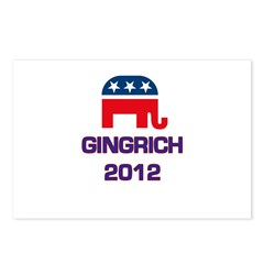 Gingrich 2012 Postcards (Package of 8)