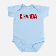 Canada Infant Bodysuit