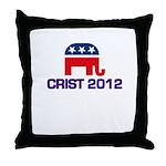 Charlie Crist 2012 Throw Pillow