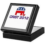 Charlie Crist 2012 Keepsake Box