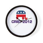 Charlie Crist 2012 Wall Clock