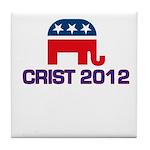 Charlie Crist 2012 Tile Coaster