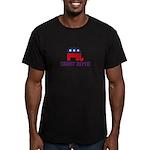 Charlie Crist 2012 Men's Fitted T-Shirt (dark)