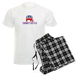 Charlie Crist 2012 Men's Light Pajamas