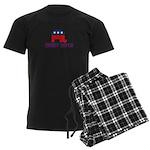 Charlie Crist 2012 Men's Dark Pajamas