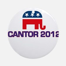 Eric Cantor 2012 Ornament (Round)