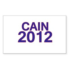 Herman Cain 2012 Decal