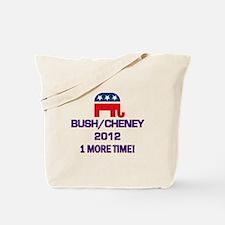 Bush Cheney 2012 Tote Bag