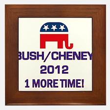 Bush Cheney 2012 Framed Tile