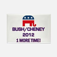 Bush Cheney 2012 Rectangle Magnet