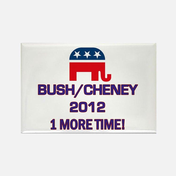 Bush Cheney 2012 Rectangle Magnet