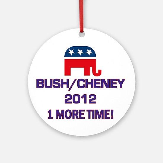 Bush Cheney 2012 Ornament (Round)
