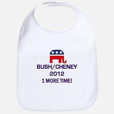 Bush Cheney 2012 Bib