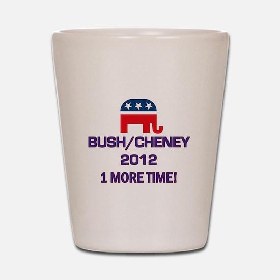 Bush Cheney 2012 Shot Glass