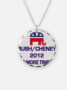 Bush Cheney 2012 Necklace