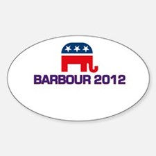 Barbour 2012 Sticker (Oval)