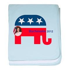 Bachmann 2012 baby blanket