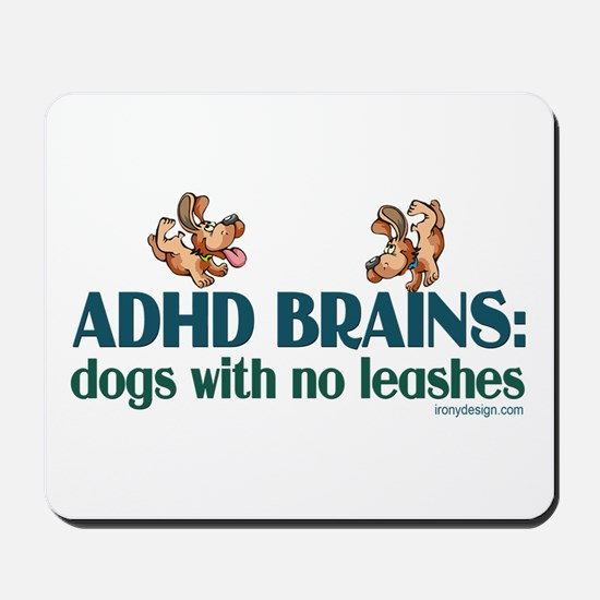ADHD BRAINS Mousepad