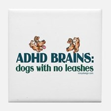 ADHD BRAINS Tile Coaster