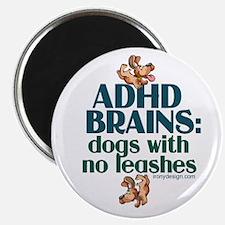 ADHD BRAINS Magnet