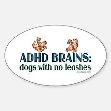 ADHD BRAINS Decal