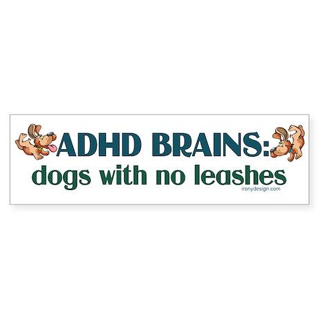 ADHD BRAINS Sticker (Bumper 50 pk)