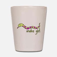 Snake Girl Shot Glass