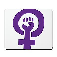 Feminist Pride Symbol Mousepad
