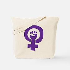Feminist Pride Symbol Tote Bag