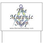 The Masonic Shop Logo Yard Sign