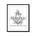 The Masonic Shop Logo Framed Panel Print
