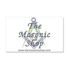 The Masonic Shop Logo Car Magnet 20 x 12