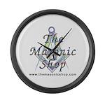 The Masonic Shop Logo Large Wall Clock