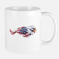 Cute Bald eagle flag Mug
