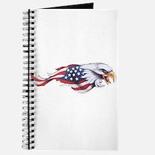 Unique Patriotic eagle Journal